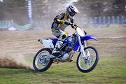 Motorbike rider mono