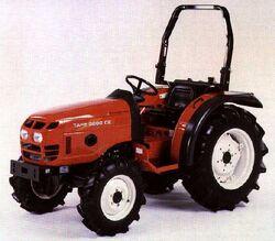 Tafe 3600 CE MFWD-2002