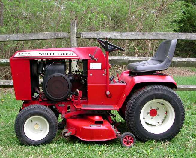 Wheel Horse C-105   Tractor & Construction Plant Wiki