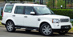 2009-2010 Land Rover Discovery 4 TDV6 SE wagon 01