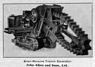 A 1930s Allen Of Oxford Waveless Excavator-Trencher