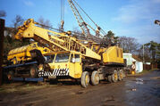 A 1970s Priestman Brothers Lion Cranetruck on Foden carrier