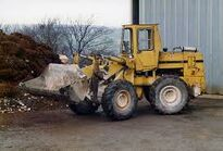 A 1980s Bray AG5000 4WD loader