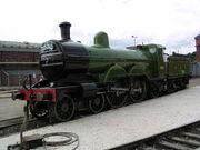 GNR C2 990 'Henry Oakley' at Doncaster Works