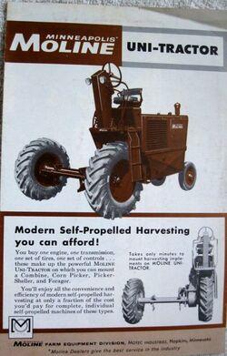 MM Uni-Tractor brochure - 1961