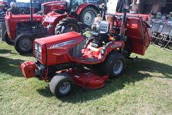 Massey Ferguson GC2300 mower at Riverside 09 - IMG 7486