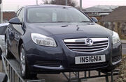 Vauxhall Insignia on forcourt