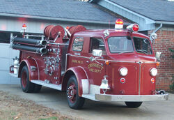 Crossett Engine 13 - 1954 American LaFrance Type 700 Fire Engine