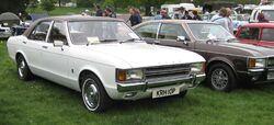 Ford Consul 2000 first reg August 1975 1993cc