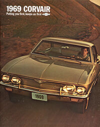 69 corvair brochure