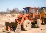 A 1980s Aveling Barford TS230 4WD Loader Diesel