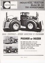 FWD Wagner WI-30 4WD b&w brochure