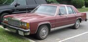 Ford LTD Crown Victoria sedan 1
