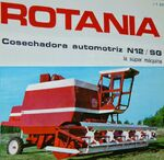 Rotania N 12 SG combine brochure