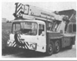 1980 IRON FAIRY Zircon V531 Cranetruck TD
