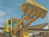 Ford 550 backhoe