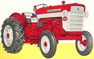 International 240 1958