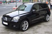 Mercedes-Benz GLK 350 4matic X204 from 2008 frontleft 2008-07-18 U