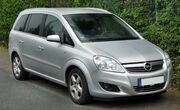 Opel Zafira B Facelift front 20090923