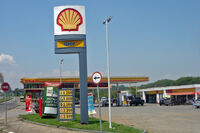 Piracicaba 10 2008 151 Gast station selling four fuels