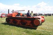 Sherman Tractor (tank) at Carrington 2010 - IMG 4470