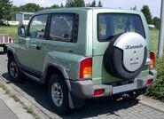 SsangYong Korando rear 20080711