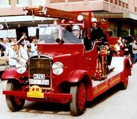 Volvo LV 70 D Fire Engine 1935