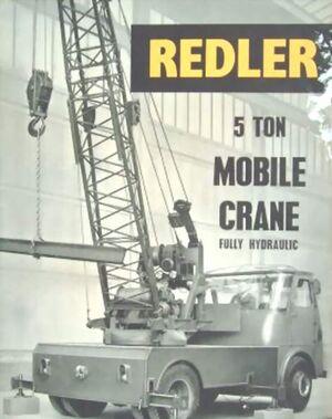 A 1963 REDLER MK2 Mobilecrane