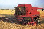 MF 8780 combine - 2001