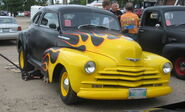 '41 chevy flame job