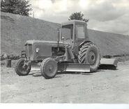 A 1960s Aveling Barford Fordson tractor based Motorgrader Diesel