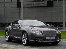Bentley Continental GT (II) – Frontansicht (1), 30. August 2011, Düsseldorf