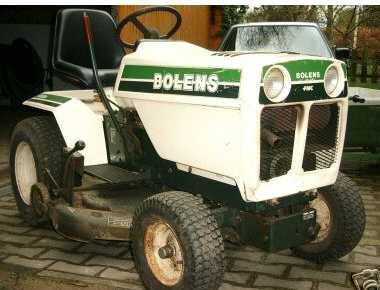 Bolens G12XL | Tractor & Construction Plant Wiki | FANDOM
