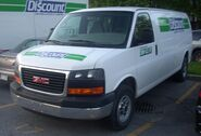GMC Savana (Discount Car Rental)