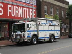 NYPD ESU 9 truck 5509