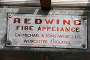 Redwing Fire - Carmichael & Sons plate - IMG 4981