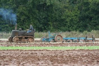 VF ploughing at WC 2 17.11.08