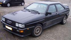 Audi Quattro vl black
