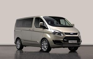 Ford transit custom concept