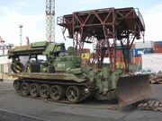 IMR combat engineering vehicle in Odesa