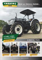 Karatas 7549 MFWD brochure (black) - 2018