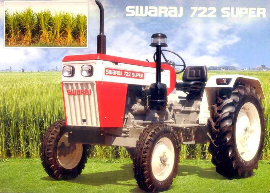 Swaraj 722 Super Tractor Construction Plant Wiki FANDOM