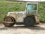 A 1980s Aveling Barford HDC13 Roadroller Diesel