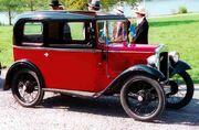 Austin Seven Box Saloon 1933