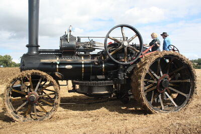Fowler ploughing engine no. 15670