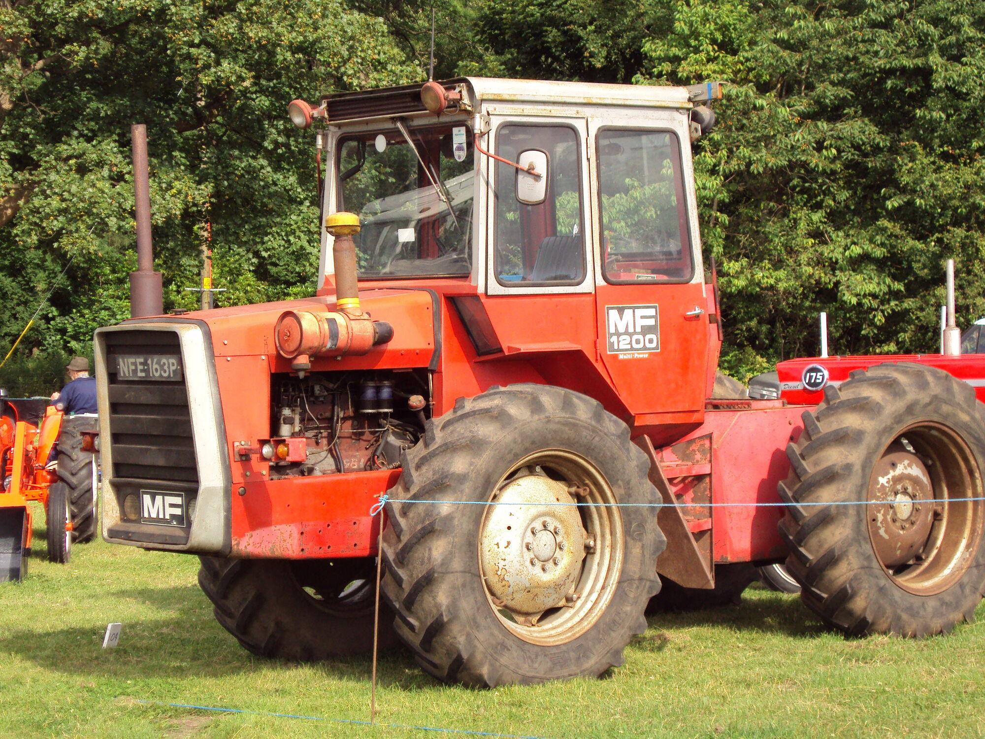 Massey Ferguson 1200 series | Tractor & Construction Plant Wiki | FANDOM  powered by Wikia