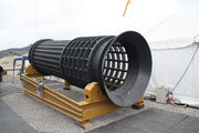 Screener barrel at Hillhead 2011 - IMG 1726