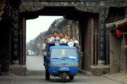 Three wheeler in Pingyao
