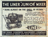 A 1940s Liner Cement Mixer