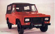 PORTARO 230PV 2300 Gasolina 4X4 de 1982